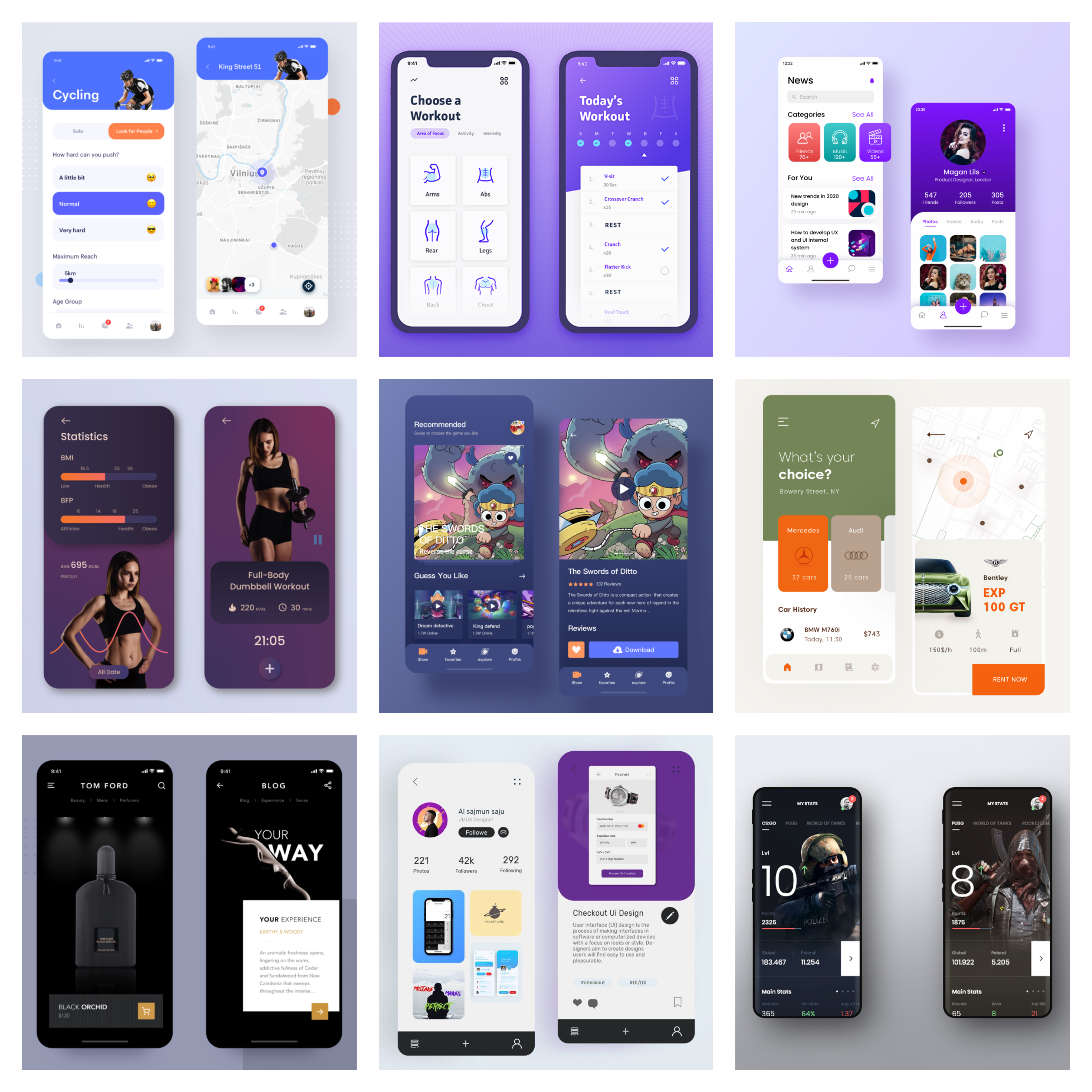 12 APP Design Inspiration and Tips