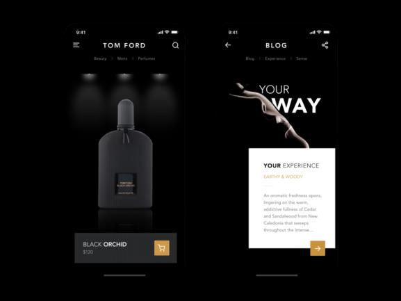 Luxury App Design