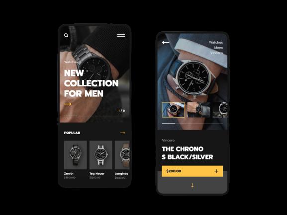 Luxury App Design DesignViva